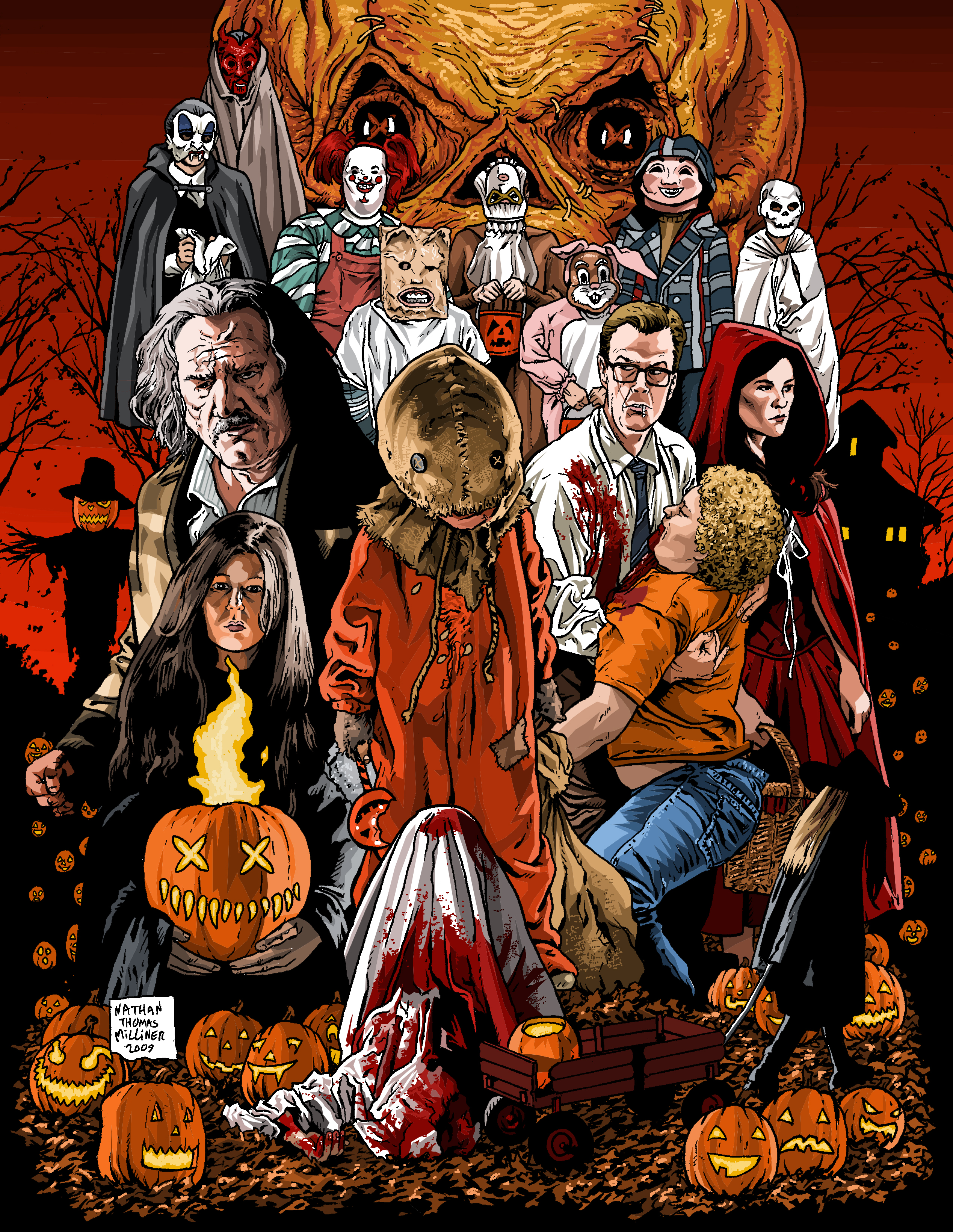 Movie Review Trick R Treat Rogues Hollow Productions