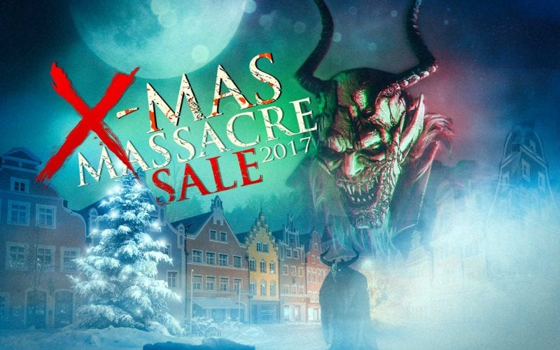X-Mas Massacre sale 2017 is Happening Now!