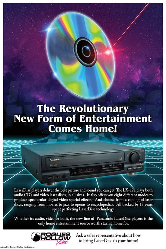 Laserdisc Poster